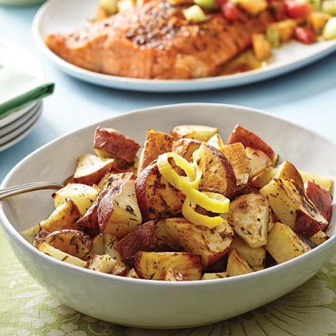 Lemon & Thyme Potatoes