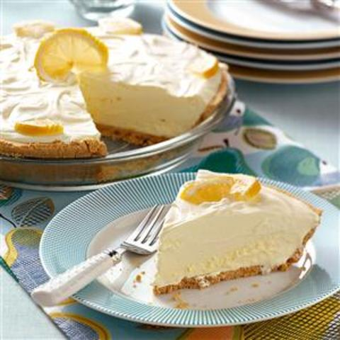 Lemonade Icebox Pie