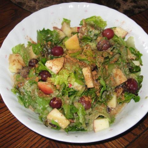 Lemony Light Waldorf Salad