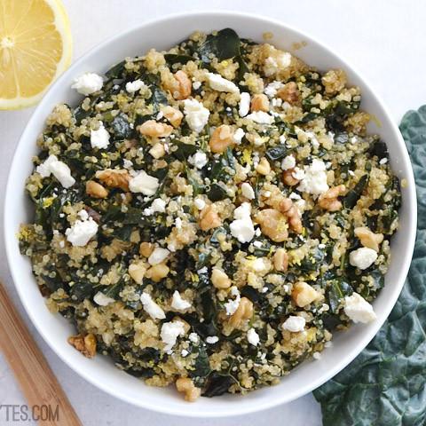 Lemony Kale and Quinoa Salad