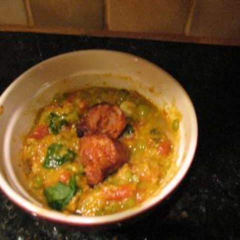 Lentil and Quinoa Spinach Soup