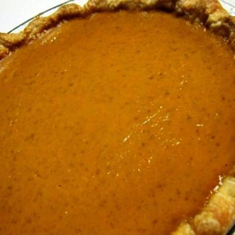 Libbys Famous Homemade Pumpkin Pie