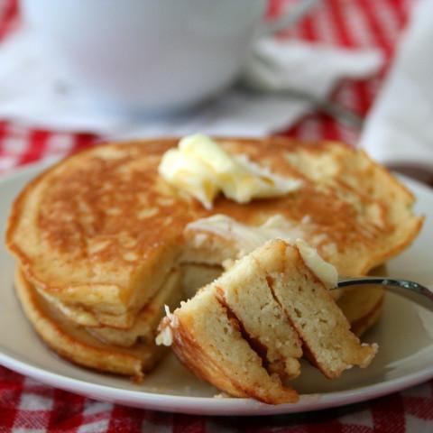 Light and Fluffy Coconut Flour Pancakes