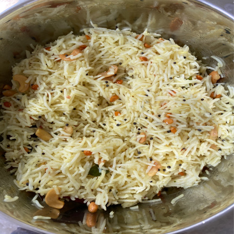 Lime rice ( mixed rice)