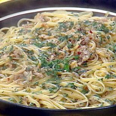 Linguini with Clam Sauce