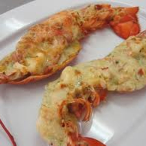 Lobster Tails with Clarified Butter