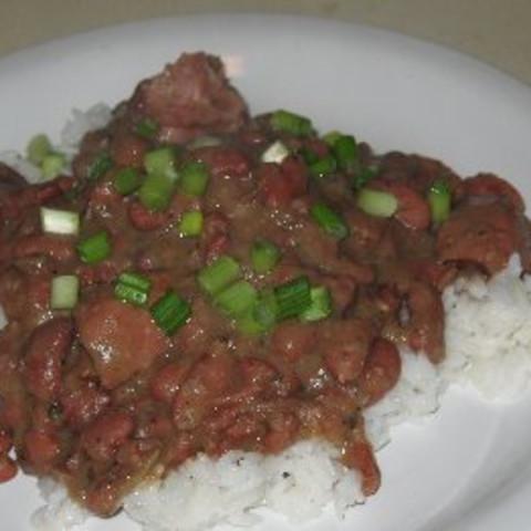 Louisiana Red Beans & Rice (light Version)