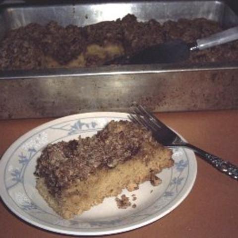 Sour Cream Coffee Cake Made With Splenda