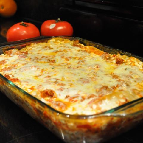 Low-fat Lasagna