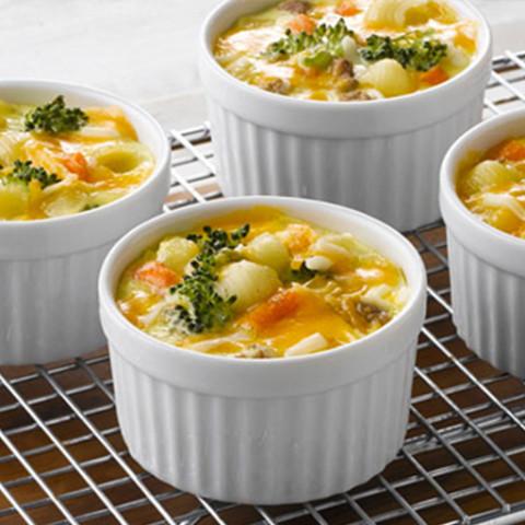 Mac & Cheese Egg Cups