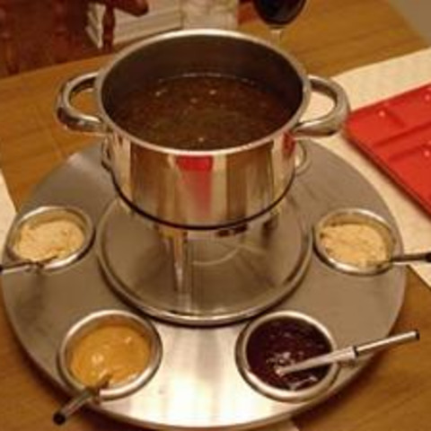 Fondue - Chicken and Beef