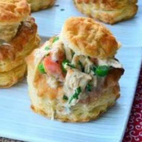 Main - Puffed Pastry Chicken Or Turkey