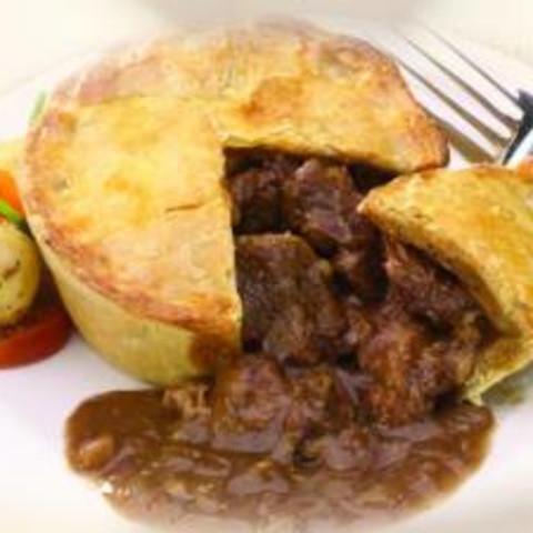 Main - Steak Pie Pub Food