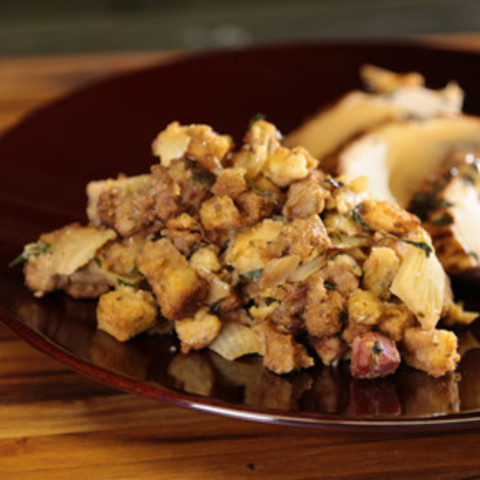 Mama T's Thanksgiving Stuffing