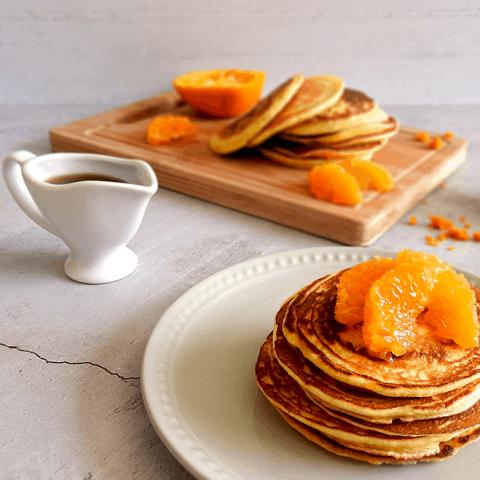 Mandarin Scotch Pancakes Recipe