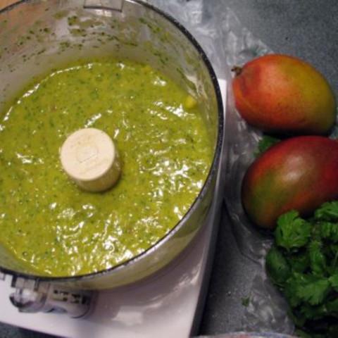 Mango Sauced Chicken Salad