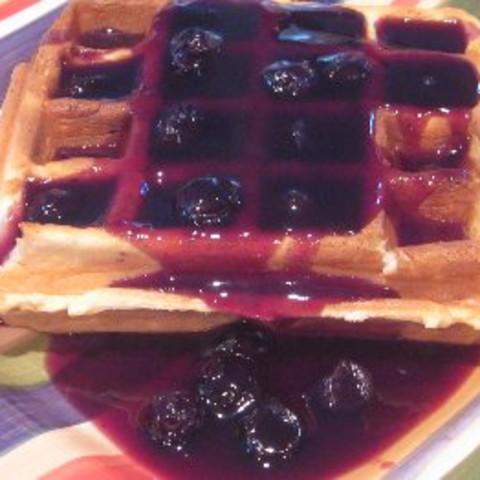 Maple-Blueberry Sauce