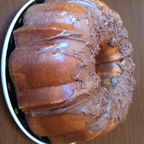 Marbled Bundt Cake