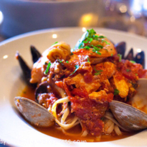 Marco Brazzi's Quick Seafood Fra Diavolo