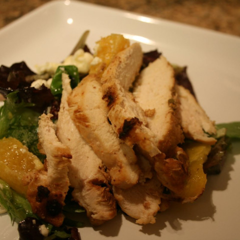 Margarita Chicken Salad with Citrus Dressing