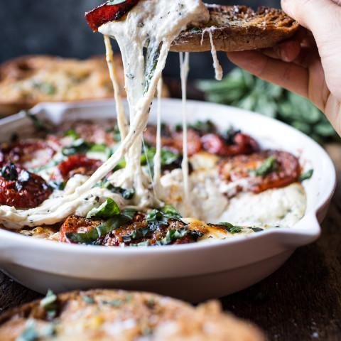 Margherita Pizza Dip