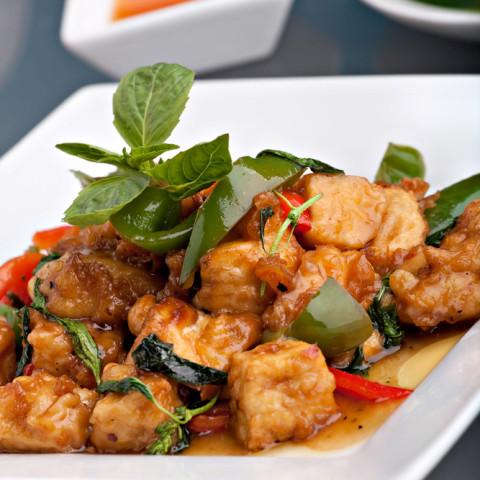 Marinated Fried Tofu