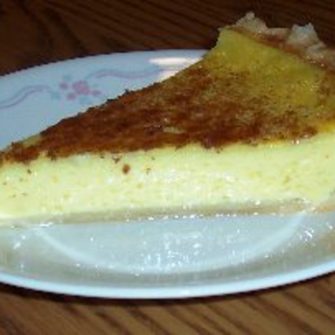 Ma S Egg Custard Pie