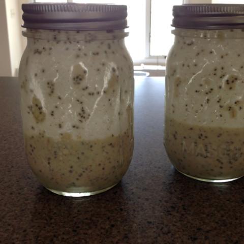 Mason Jar Oatmeal