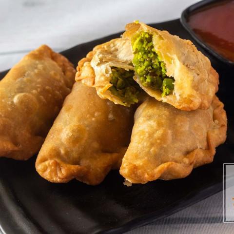 Matar Karanji recipe in Marathi