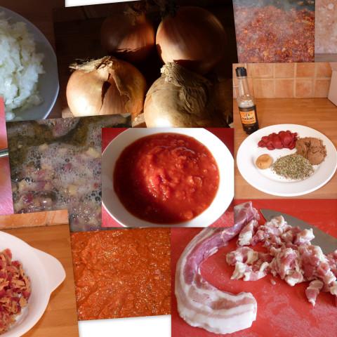 Matt's home made sausage casserole cook in sauce to use w RecipeID # 372081