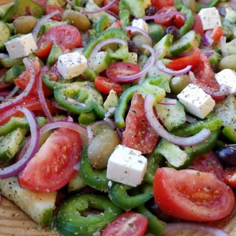 Mediterranean Chop-Chop Salad