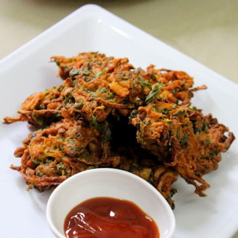Methi Pakoda Recipe(Pakora), Methi Bhajiya