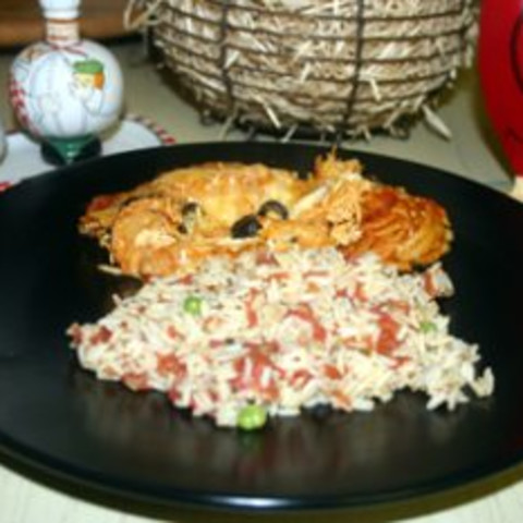 Mexican Rice - Rice cooker method