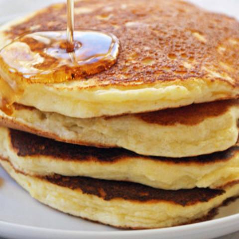 Meyer Lemon-Ricotta Pancakes