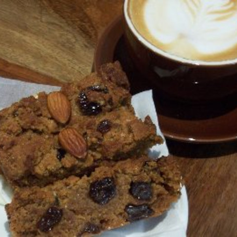 Moist Date And Walnut Cake