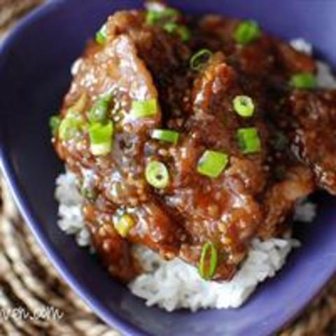 Mongolian Beef a la House of Hong