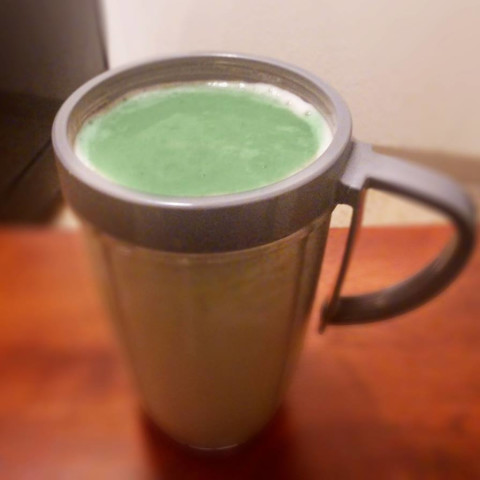 My Every Morning Super Healthy Green Shake (Alkaline)