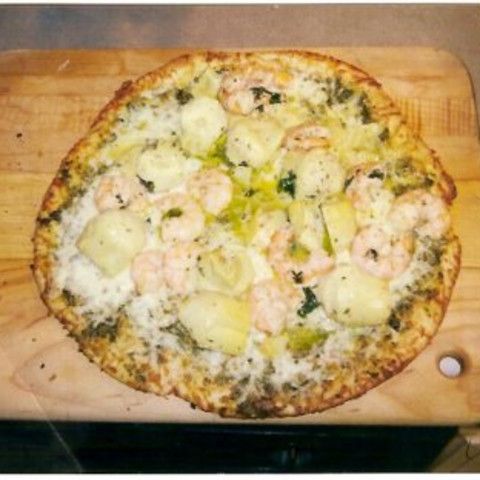 Nautico's Pizza Scampi