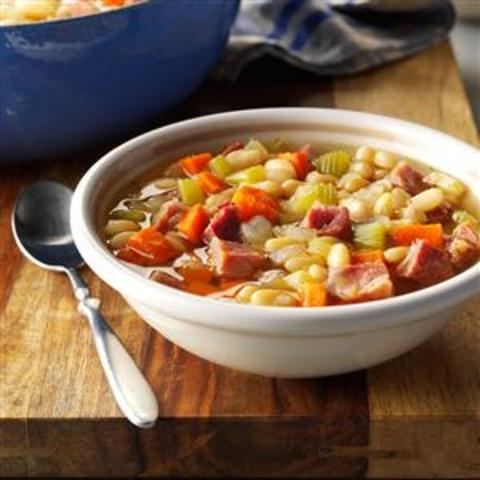 Neighborhood Bean Soup Recipe