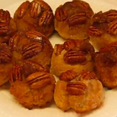 New Year's Brunch Praline Biscuits