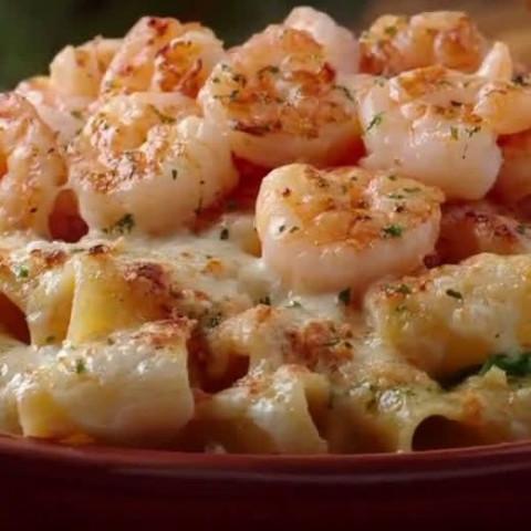 Nikki's Shrimp Rigatoni Pasta
