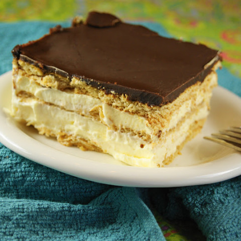 recipe: calories in a chocolate eclair with cream [27]