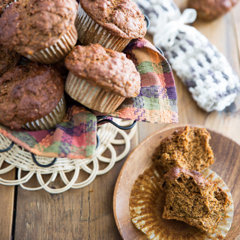 No Sugar Added Sweet Potato Muffins