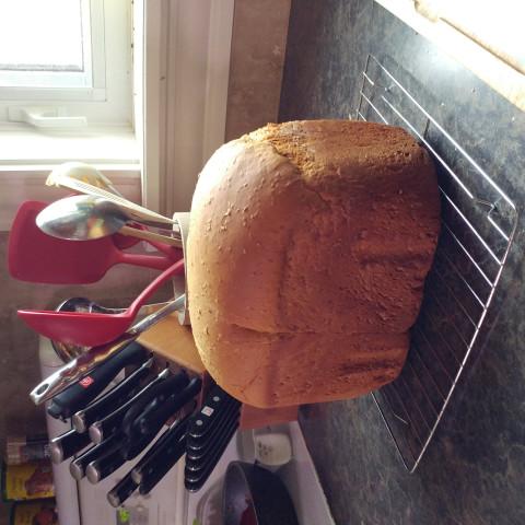 Oatmeal Brown Bread - Bread Machine