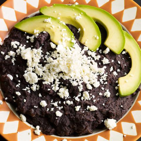 Oaxaca Style Refried Beans