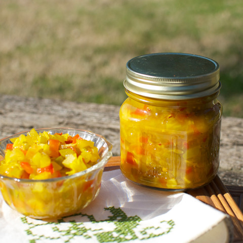 Old Fashioned Chow-Chow Relish