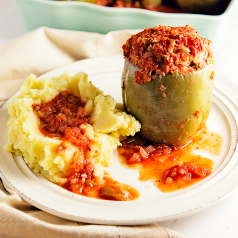 Old Fashioned Stuffed Peppers