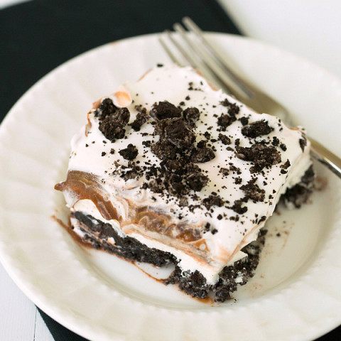 Oreo Cream Cheese And Pudding Dessert
