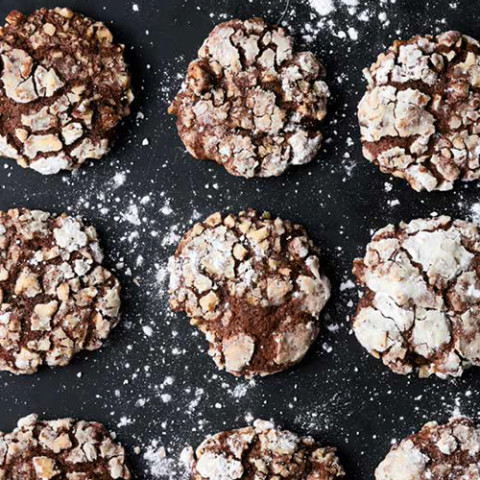 Ottolenghi's Chocolate, Banana And Pecan Cookies