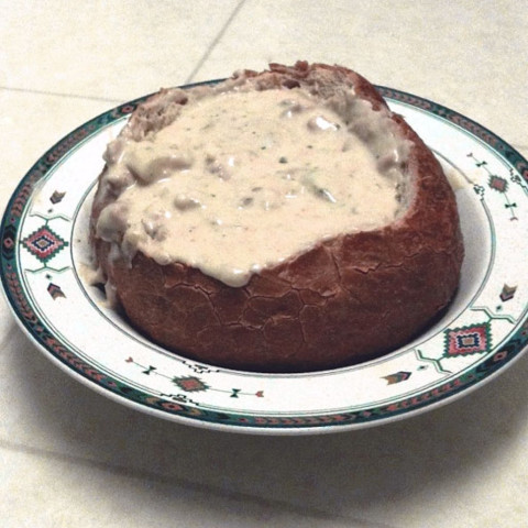 Outback Steakhouse Clam Chowder